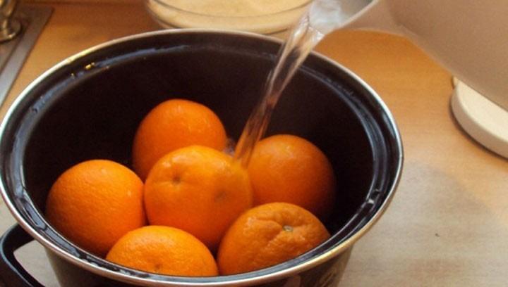 апельсины в кипятке