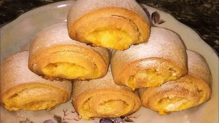 печенье с кожурой апельсина
