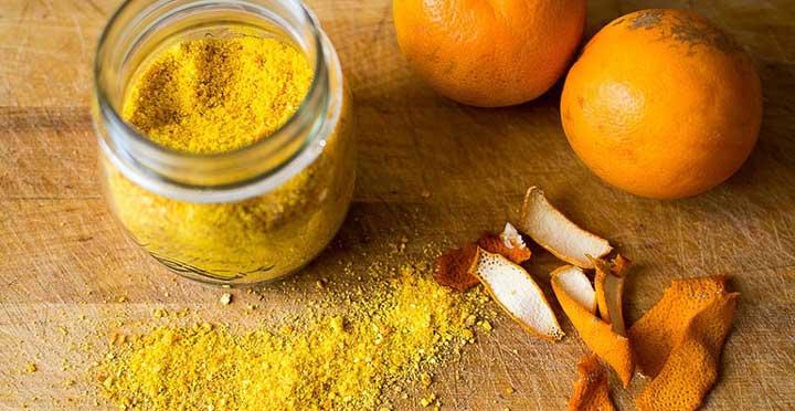 порошок из цедры апельсинов