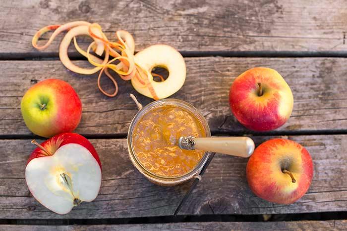 Яблочный конфитюр с гвоздикой