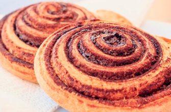 Рецепты булочек с корицей