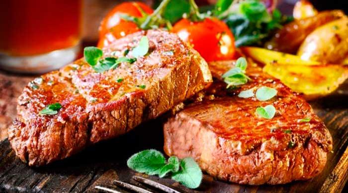 Мясо с травами