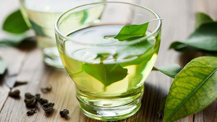 Смузи с зеленым чаем и имбирем