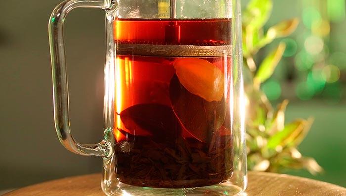 Чай с лавром