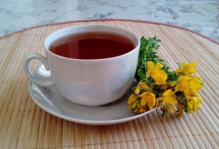 Рецепт чая со зверобоем