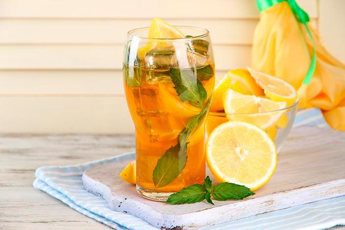 Напиток с имбирем и апельсином