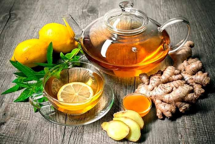 Имбирный чай при климаксе