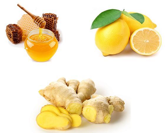Ингредиенты для варенья с имбирем, медом и лимоном