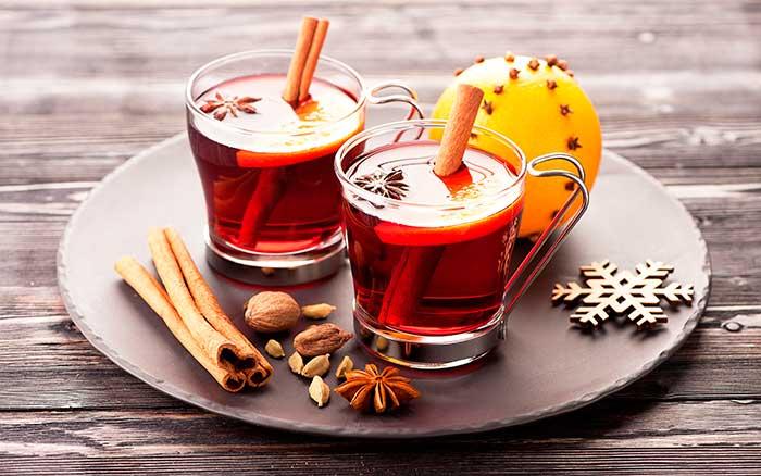 Напиток с корицей