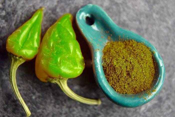 Паприка зеленого цвета