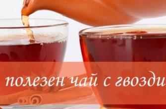 Польза чая из гвоздики