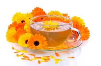 Календула для чая