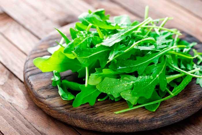 Зелень рукколы