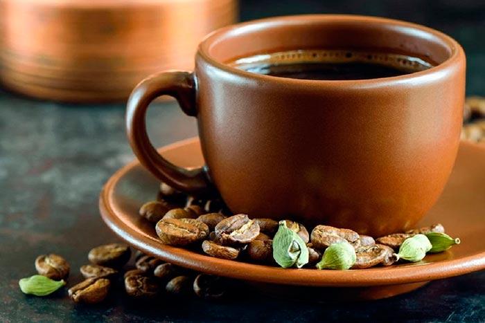 Кардамон с кофе