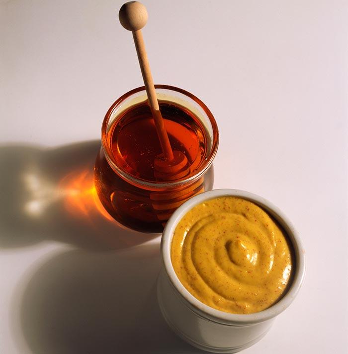 Мед с горчицей от кашля
