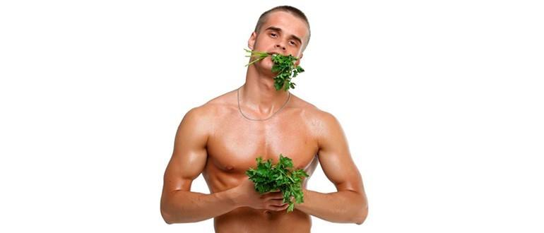 Польза петрушки для мужчин