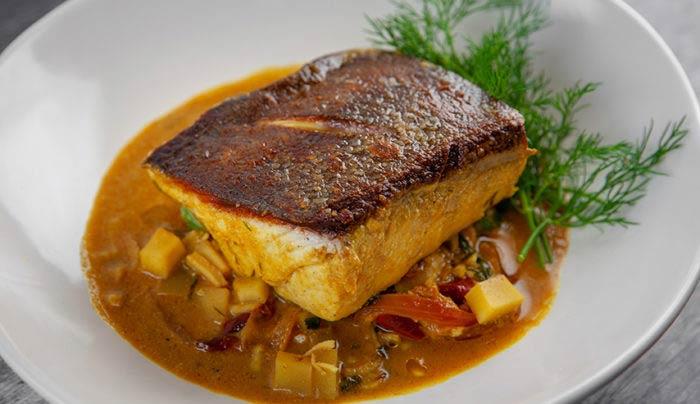 Рыба с карри