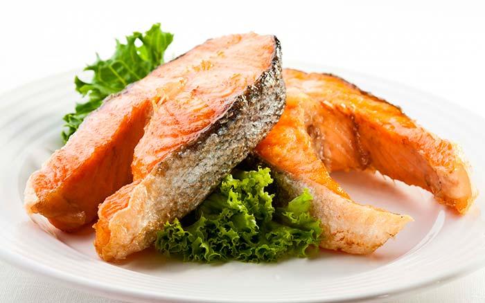 Рыба с мятой
