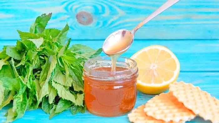 Варенье из лимона и мяты