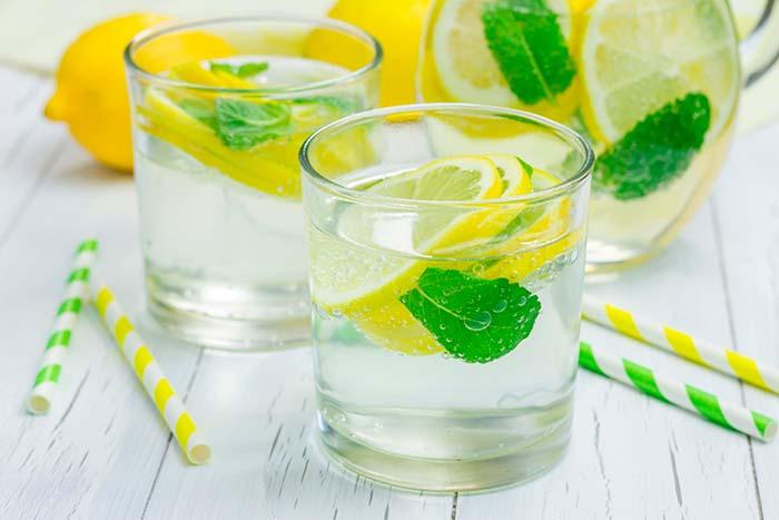 Лимон и мята