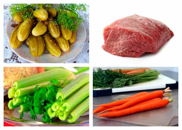 Рецепт говядины с сельдереем