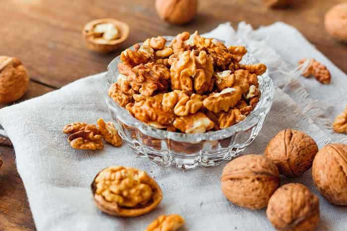Блюда с орехами
