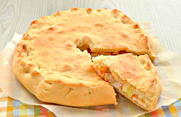 Пирог из сельдерея