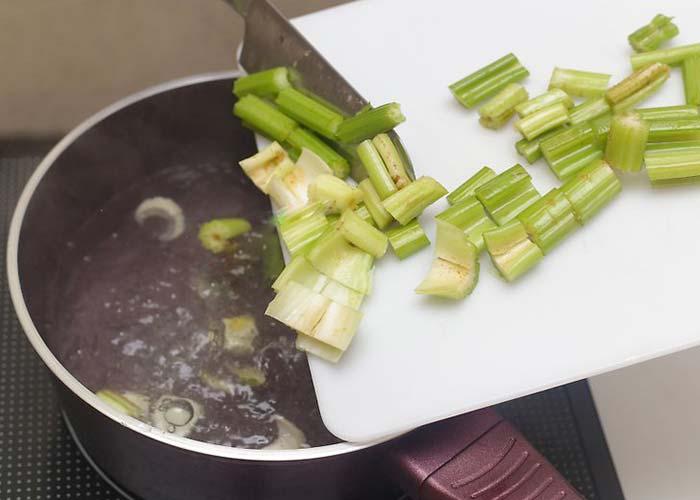 Как готовить сельдерей