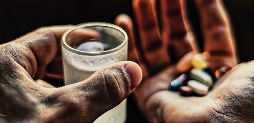 Запрещено принимать с алкоголем